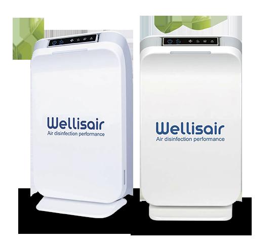 Purificador aire Wellisair